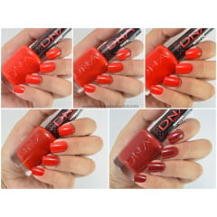 Colecao de Esmaltes DNA Italy Red Passion