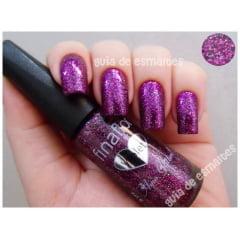 Esmalte Fina Flor Glitter Violet
