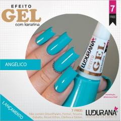 Esmalte Ludurana Efeito Gel Angélico