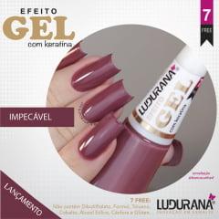 Esmalte Ludurana Efeito Gel Impecavel