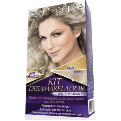 Kit Desamarelador Beauty Color Efeito Platinado