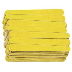Lixa para unhas Santa Clara Canario Mini Amarela 8cm