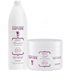 Kit Duo Precious Nature Alfaparf Curly & Wavy Hair (1L + 500ml)