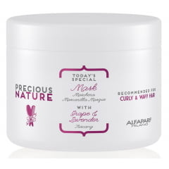 Máscara Precious Nature Alfaparf 500ml Curly & Wavy Hair