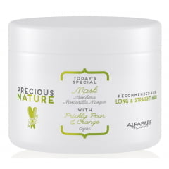 Máscara Precious Nature Alfaparf 500ml Long & Straight Hair