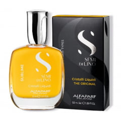 Oleo Capilar Semi di Lino Sublime Alfaparf 50ml Cristalli Liquidi