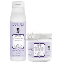 Tratamento Reparador Precious Nature Alfaparf Hair With Bad Habits