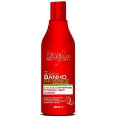 Shampoo Banho de Verniz Forever Liss 500ml Morango