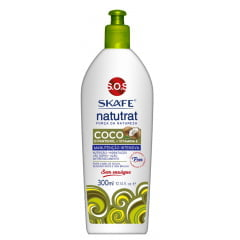 Leave in Natutrat Skafe 300ml Forca da Natureza Manutencao Intensiva Coco