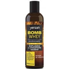 Condicionador Bomb Whey Yenzah 200ml Crescimento Saudável