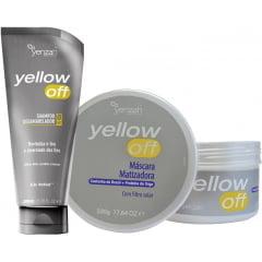 Kit Matilizador Yellow OFF Yenzah