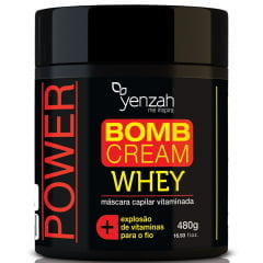 Máscara Bomb Whey Yenzah 480g Crescimento Saudável