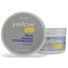 Máscara Matilizadora Yellow OFF Yenzah 500g