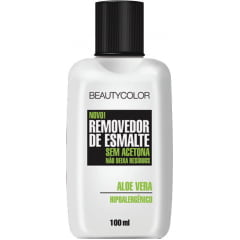 Removedor de Esmaltes Beauty Color 100ml Aloe Vera