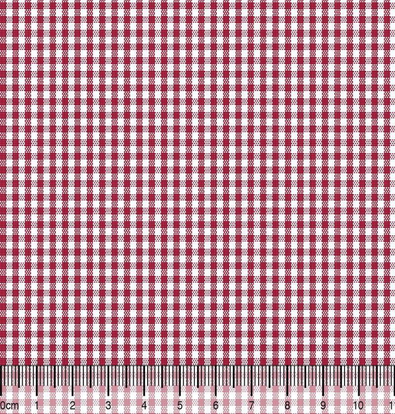 Xadrez Pequeno Des 1 X M 1066 - Vermelho