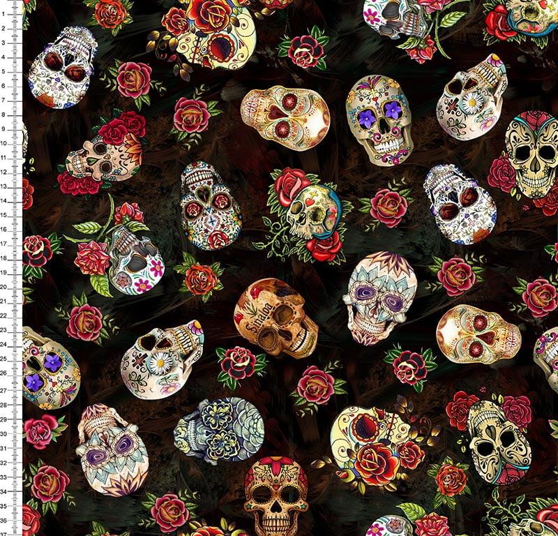 Caveira Mexicana Digital Des 9008E007