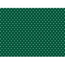 Bolinha Pequena Des1666tk -Verde Escuro com Branco
