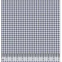Xadrez Pequeno Desenho 1 X M 1041 - Marinho