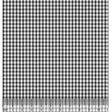 Xadrez Pequeno Desenho 1 X M 1049 Preto