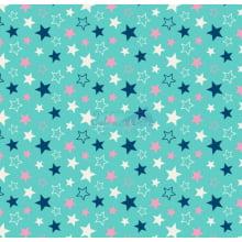 Estrelas cor 17 (Tiffany com Marinho)