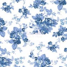 Floral Iris cor 18 (Azul) 180574