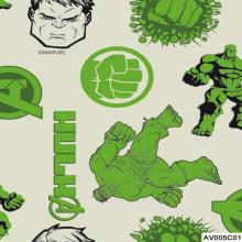 Hulk Medio Vingadores Marvel - AV005c01 - Fernando Maluhy