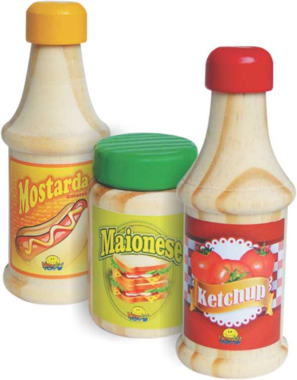 Comidinhas-Ketchup/ Mostarda /Maionese