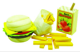 Comidinhas-Kit Sanduiche C/Fritas