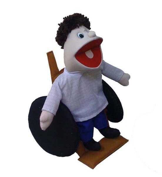 Fantochao Cadeirante