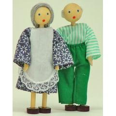 Kit bonecos avós