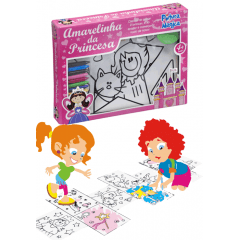 Amarelinha Princesas Pintura Mágica