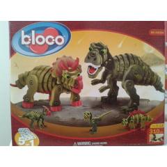 Quebra Cabeça 3D -  Bloco Toys - Dinossauros