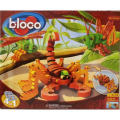 Quebra Cabeça 3D -  Bloco Toys - Escorpião e Insetos.