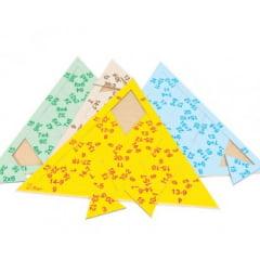 Quebra Cabeça Triangular - Operações matemáticas