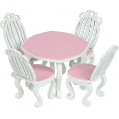 Conjunto de Mesa e Cadeiras - Linha Provençal