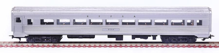CARRO 1A CLASSE AÇO INOX RFFSA - 2501
