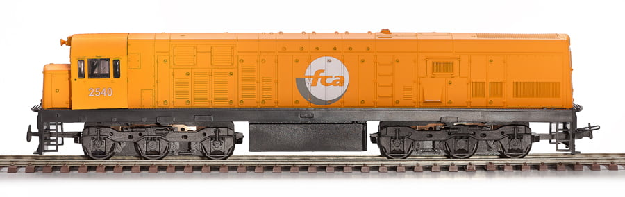 LOCOMOTIVA U20C - FCA - 3068