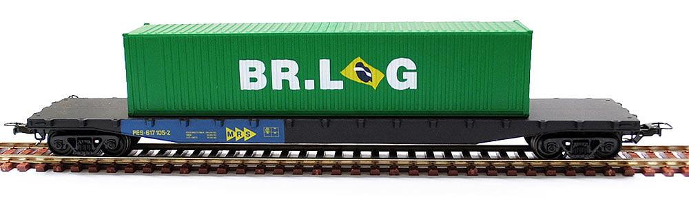 CONTEINER - 40´ - BR LOG - 20755