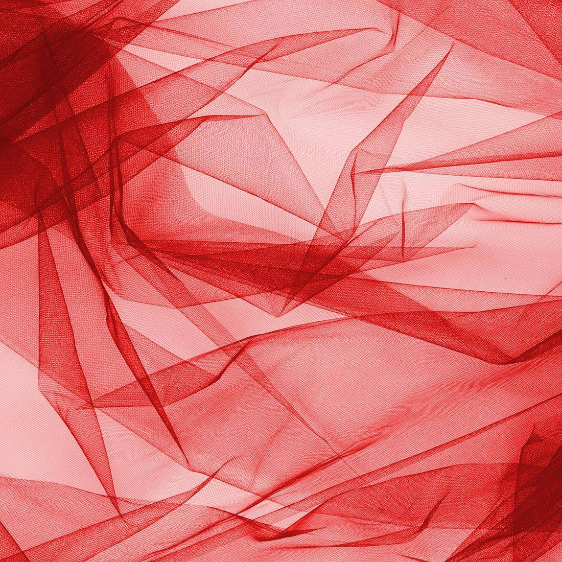 Tecido Tule Vermelho Largura 2,40mt
