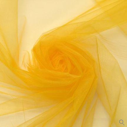 Tecido Tule Amarelo Largura 2,40mt