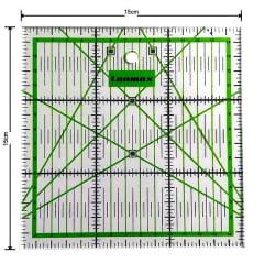 Régua para Patchwork 15 x 15cm -  p20387