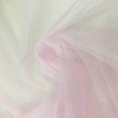 Tecido Filó p/ Armação Rosa Largura 3,00mt