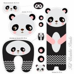 Kit Ursinho Panda 9100e1392d