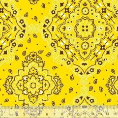 Tricoline Bandana - Amarelo 2272-11