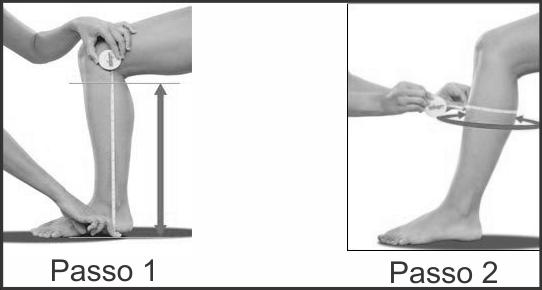 Como medir a panturrilha