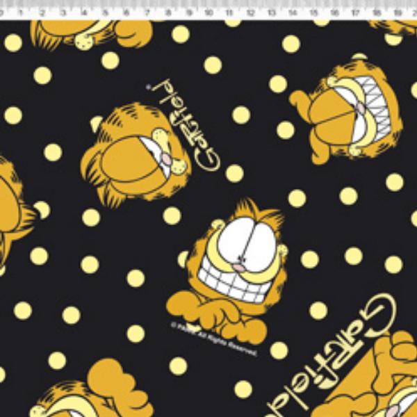 Tecido Tricoline Personagens Garfield GA011C01