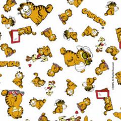 Tecido Tricoline Personagens Garfield GA006C01