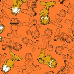 Tecido Tricoline Personagens Garfield GA007C02
