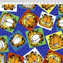 Tecido Tricoline Personagens Garfield GA009C01
