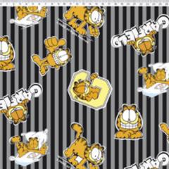 Tecido Tricoline Personagens Garfield GA012C02
